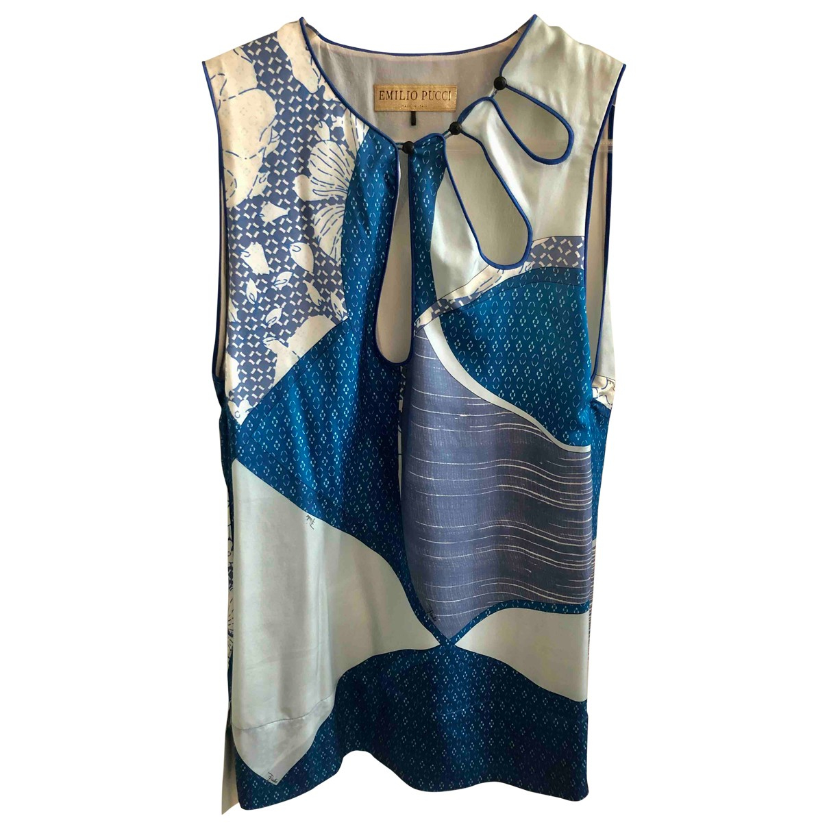 Emilio Pucci N Multicolour Silk  top for Women 42 IT