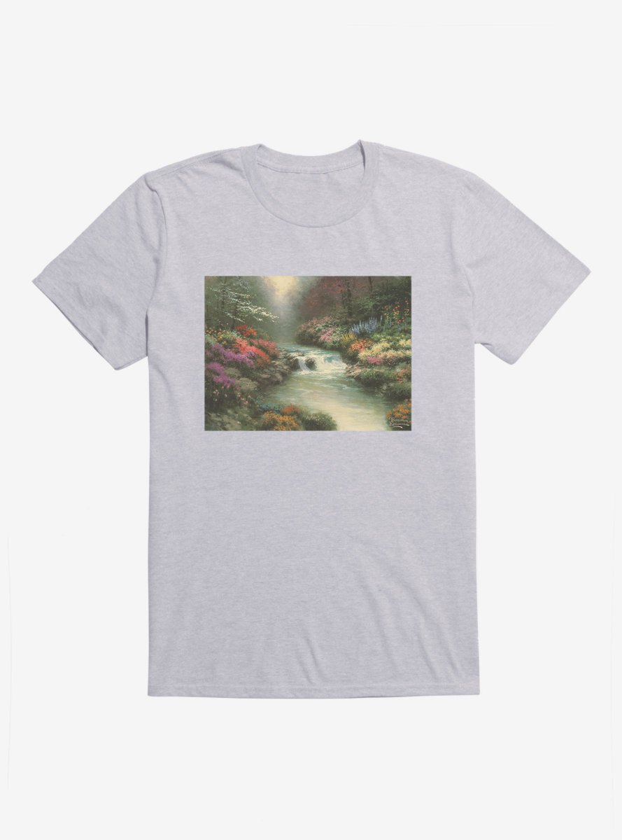Thomas Kinkade Beside Still Waters T-Shirt