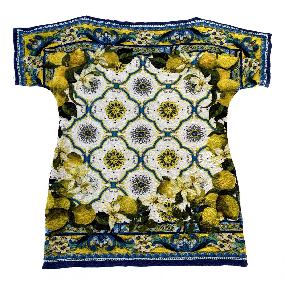 Dolce & Gabbana \N Multicolour Cotton  top for Women 38 IT