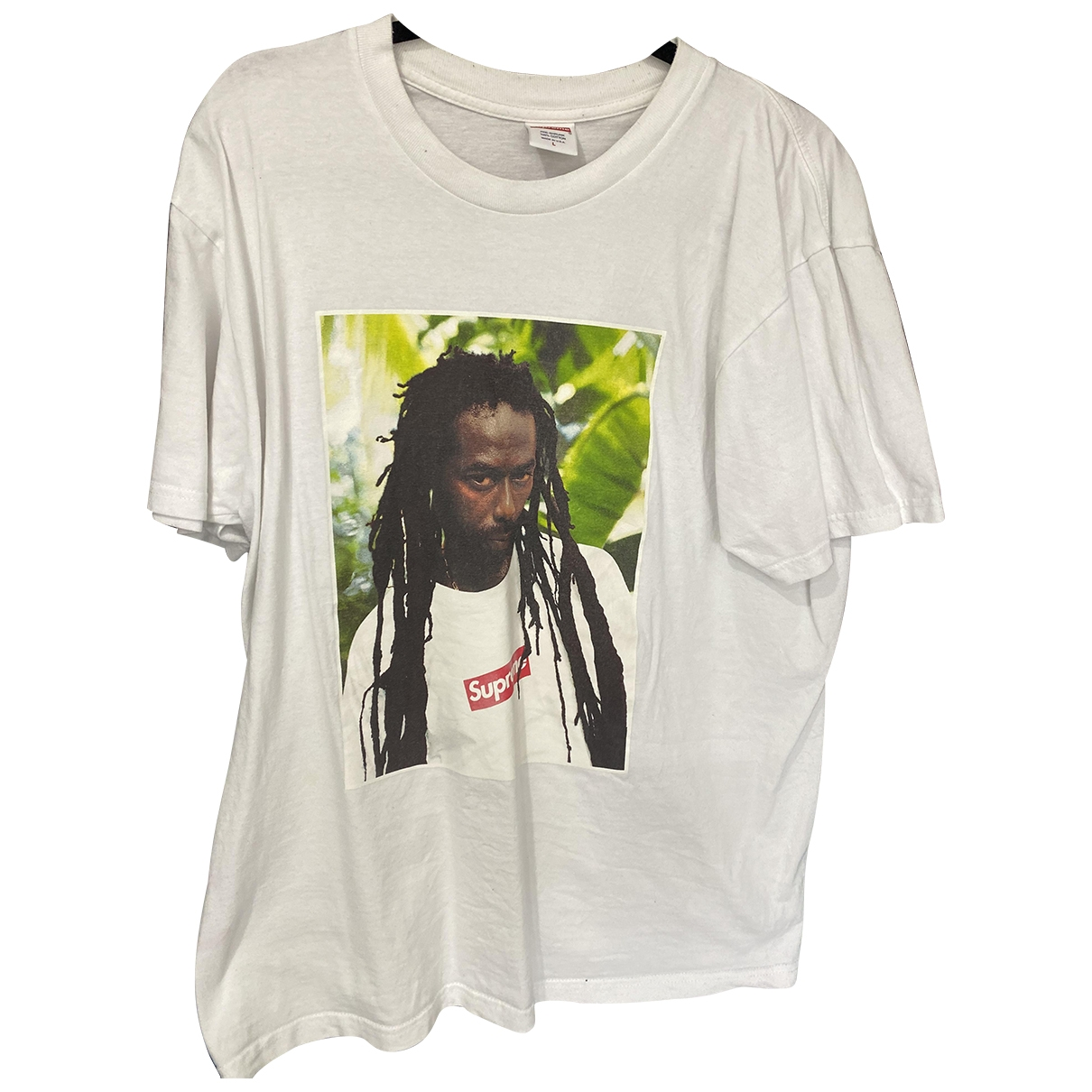 Supreme \N White Cotton T-shirts for Men L International