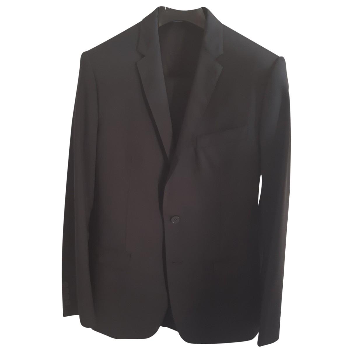 Dolce & Gabbana \N Black Wool Suits for Men 48 IT