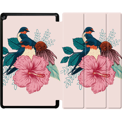 Amazon Fire HD 10 (2017) Tablet Smart Case - Barn Swallows von Mat Miller
