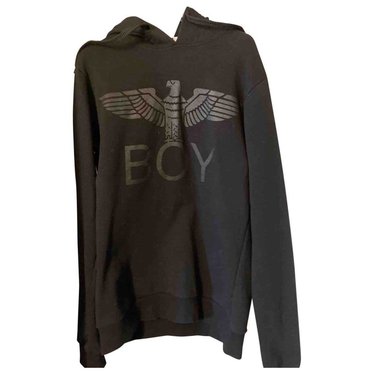 Boy London \N Pullover.Westen.Sweatshirts  in  Schwarz Baumwolle