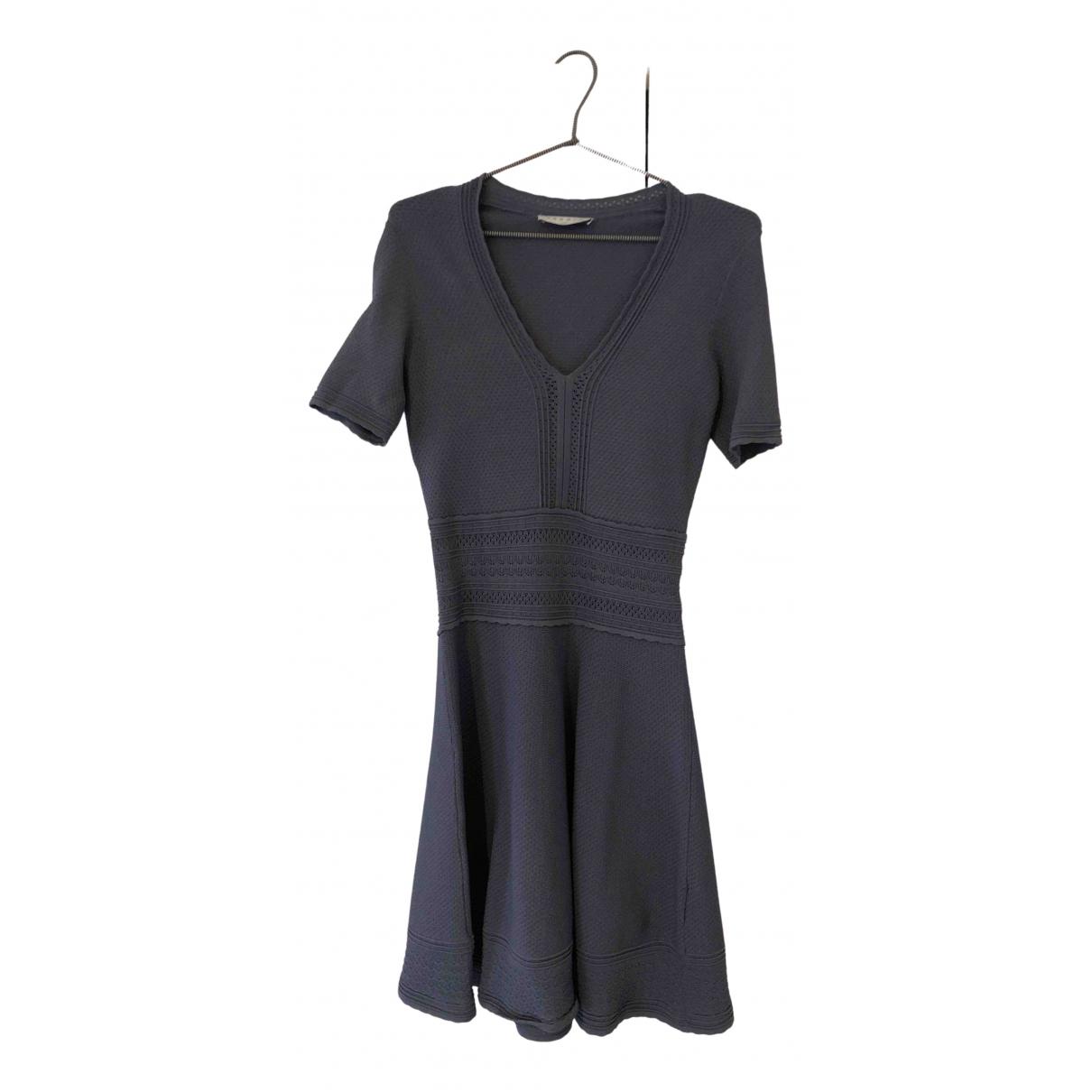 Sandro N Grey dress for Women 36 FR