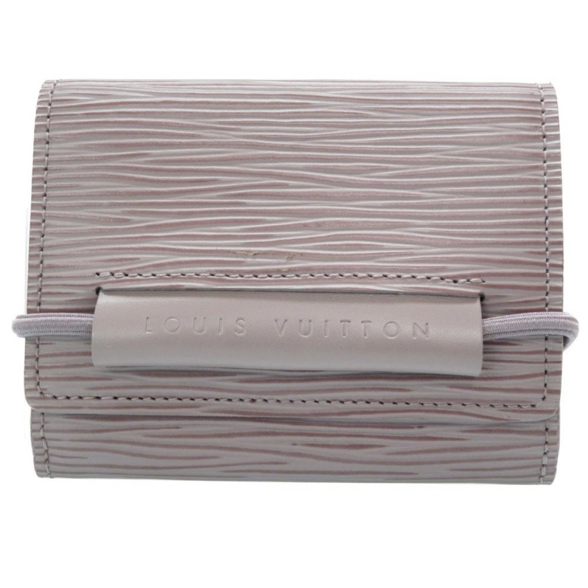 Louis Vuitton \N Purple Leather wallet for Women \N
