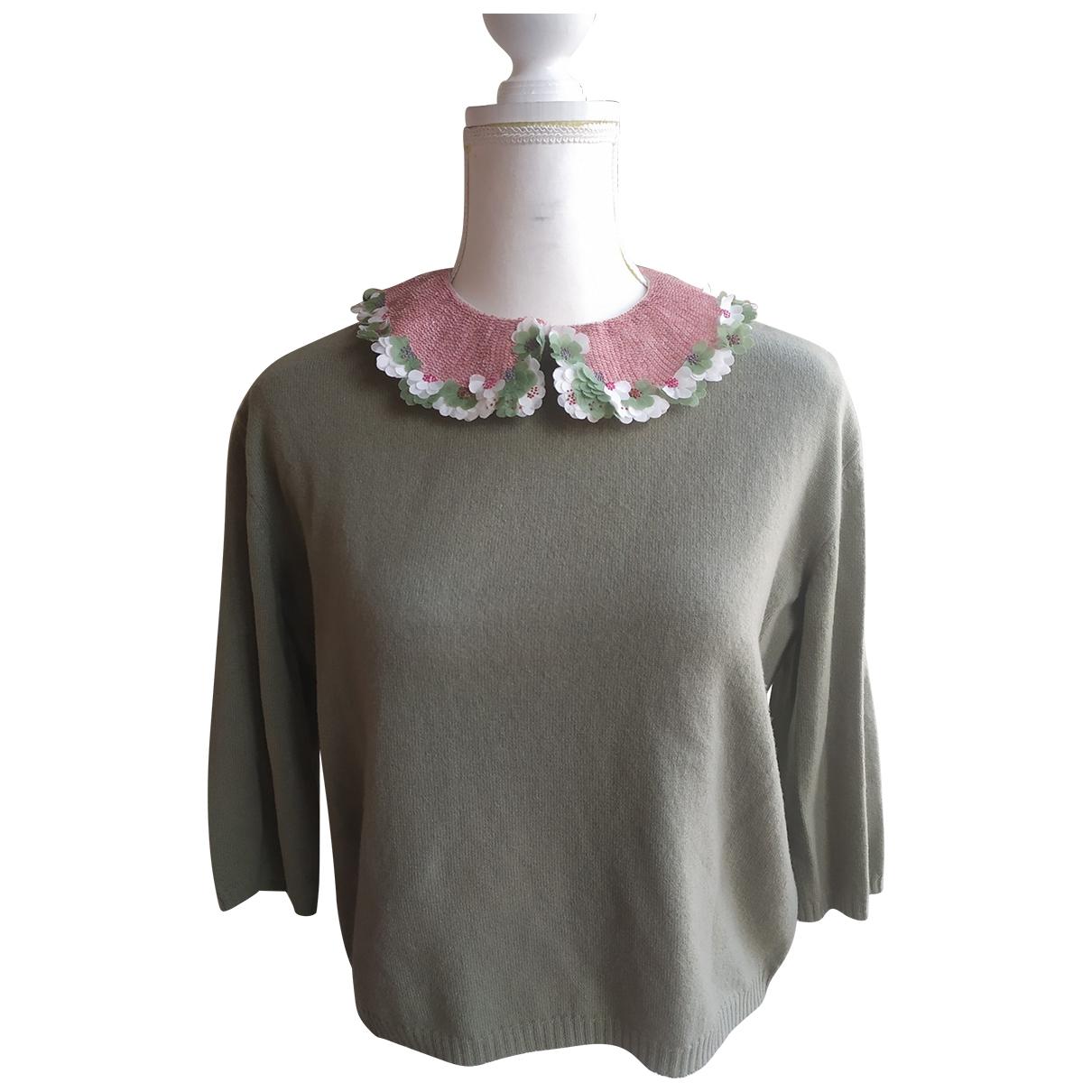 Valentino Garavani \N Green Wool Knitwear for Women XS International