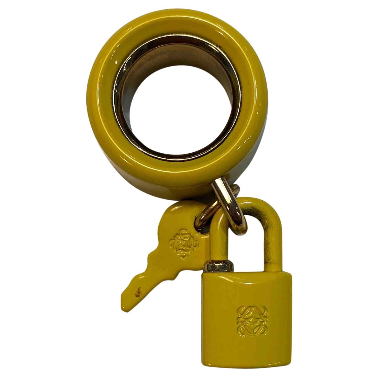 Loewe \N Ring in  Gelb Metall