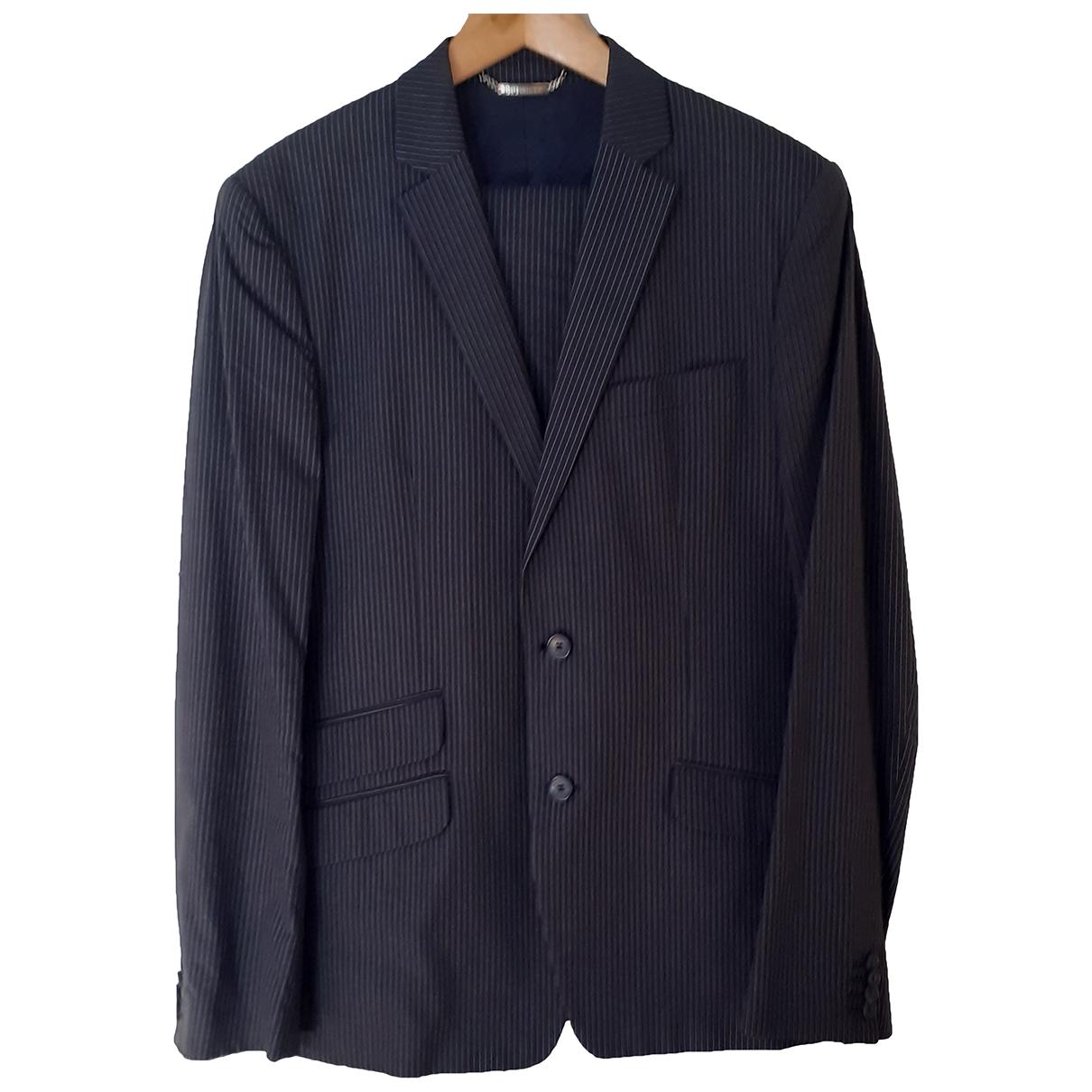 Dolce & Gabbana \N Anzuege in  Blau Baumwolle