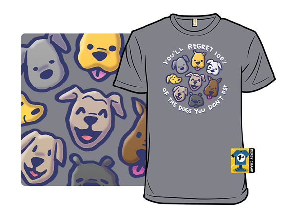 Pet Those Pups T Shirt