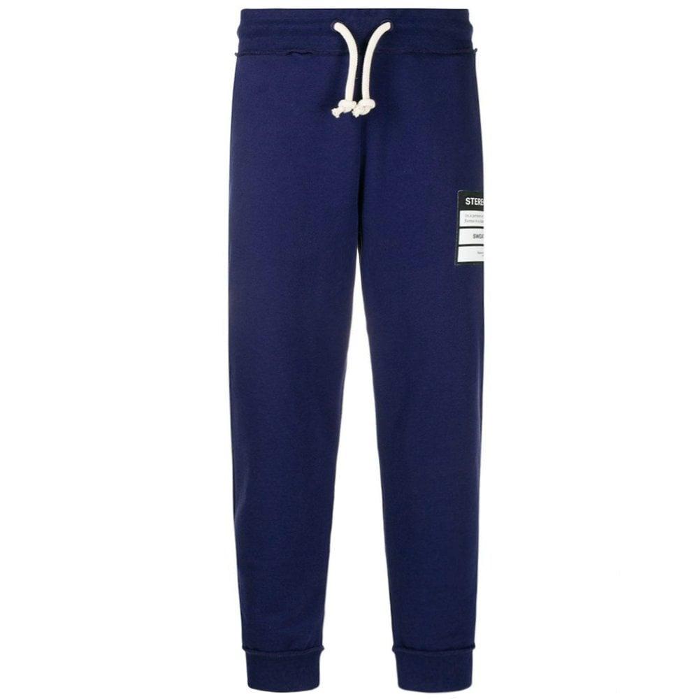 Maison Margiela 14 Stereotype Logo Joggers Size: EXTRA SMALL, Colour: BLUE