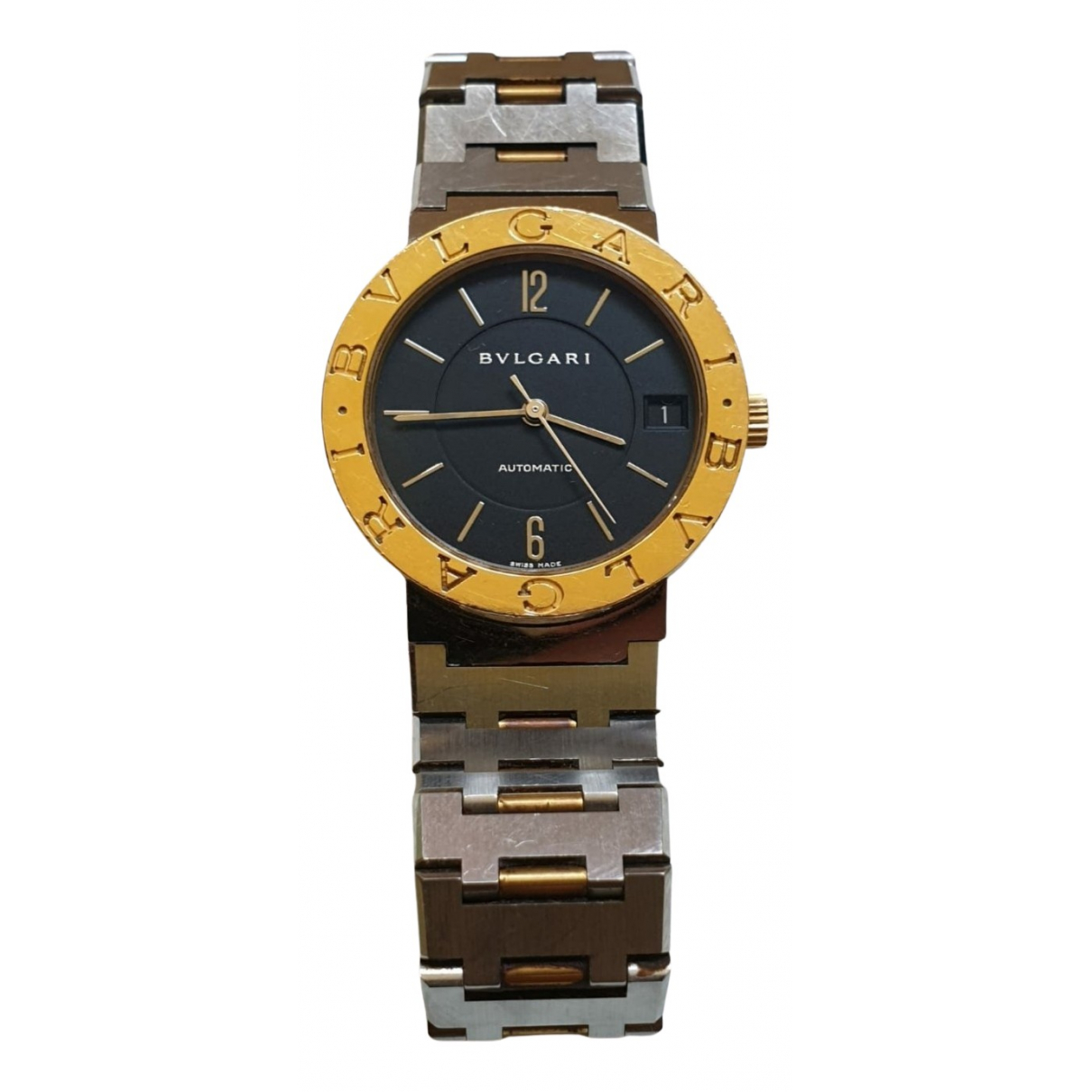 Bvlgari Bulgari Bulgari Silver gold and steel watch for Women N