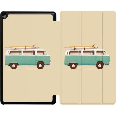 Amazon Fire HD 8 (2018) Tablet Smart Case - Blue Van von Florent Bodart