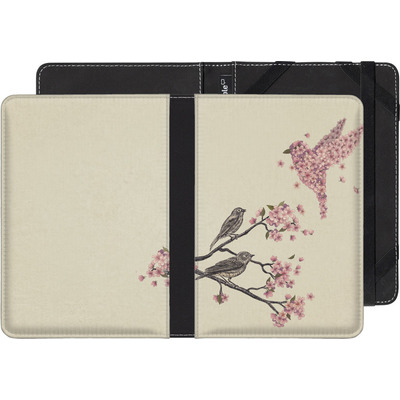 Kobo Glo eBook Reader Huelle - Blossom Bird von Terry Fan