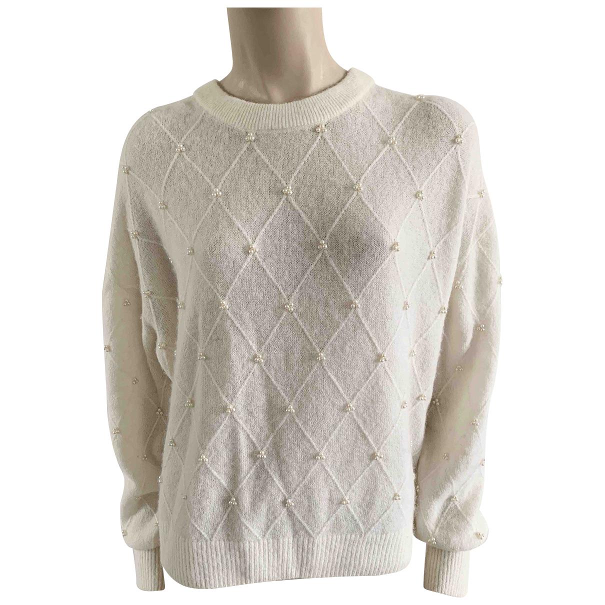 & Other Stories - Pull   pour femme en laine - blanc
