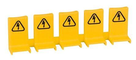 Eaton Busbar  tag shrouds, Yellow