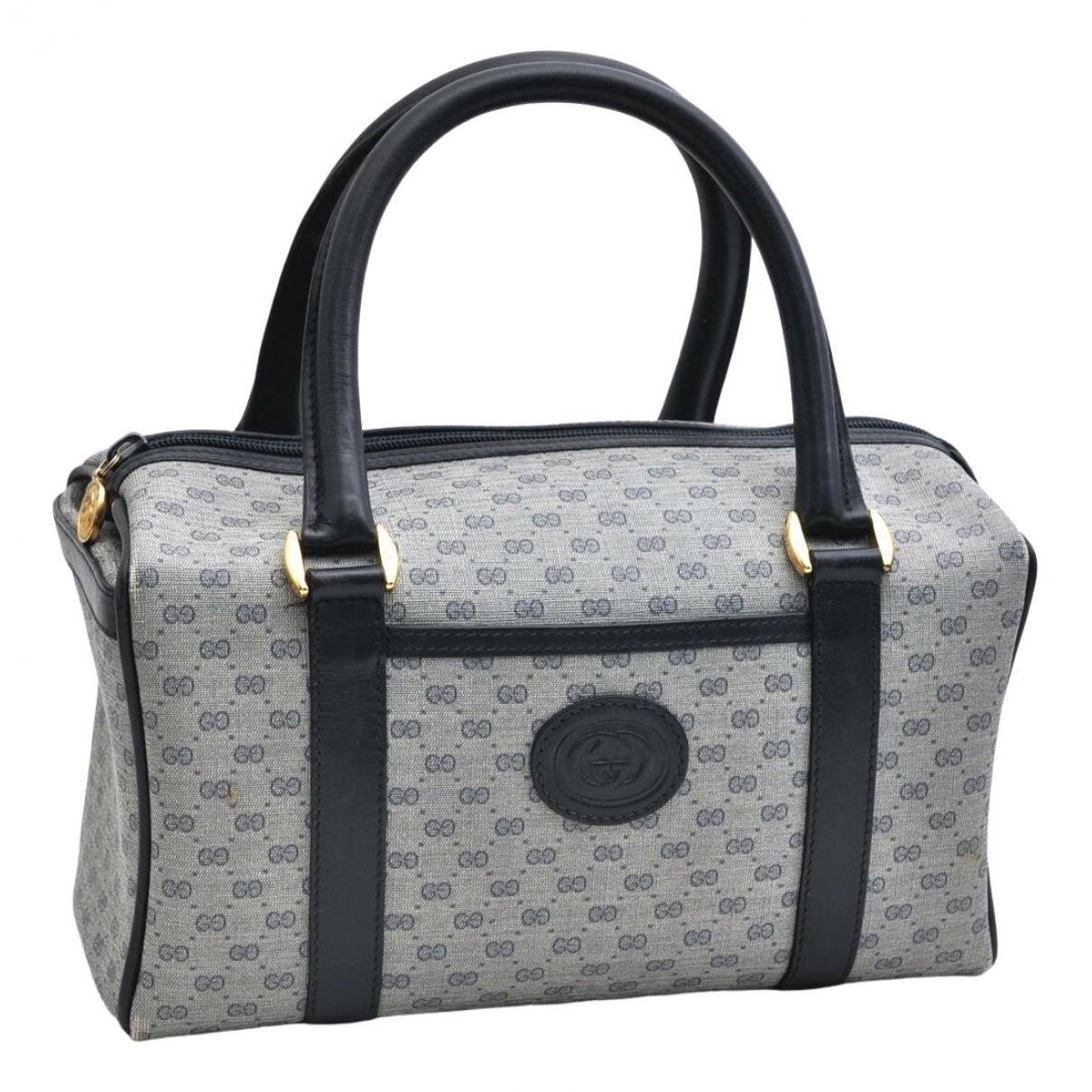Gucci \N Handtasche in  Blau Kunststoff