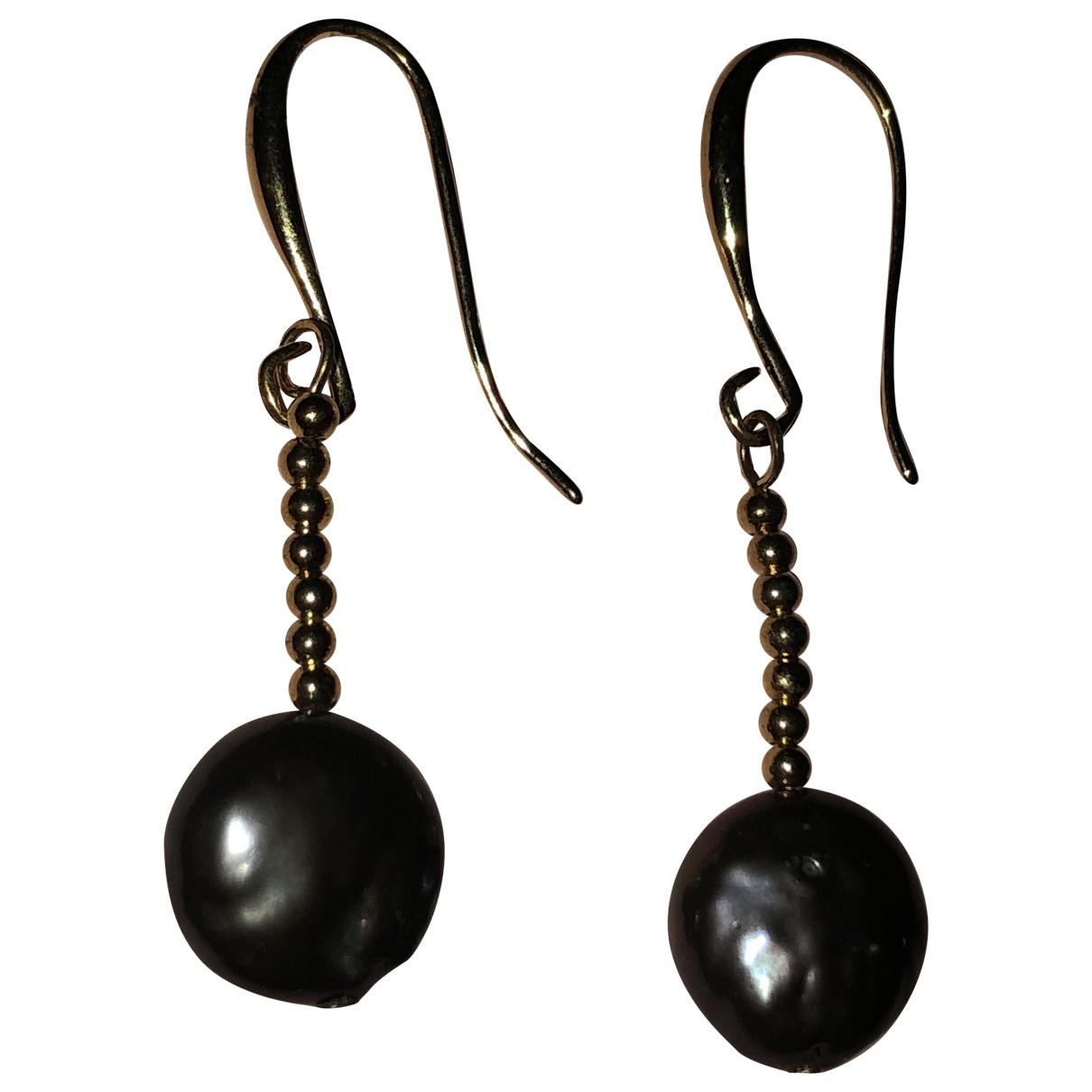 - Boucles doreilles Nacre pour femme en perle - dore