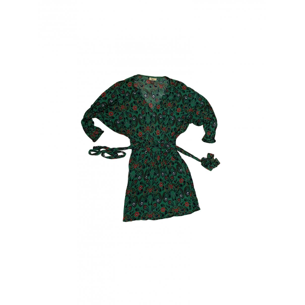 Issa \N Kleid in  Gruen Viskose