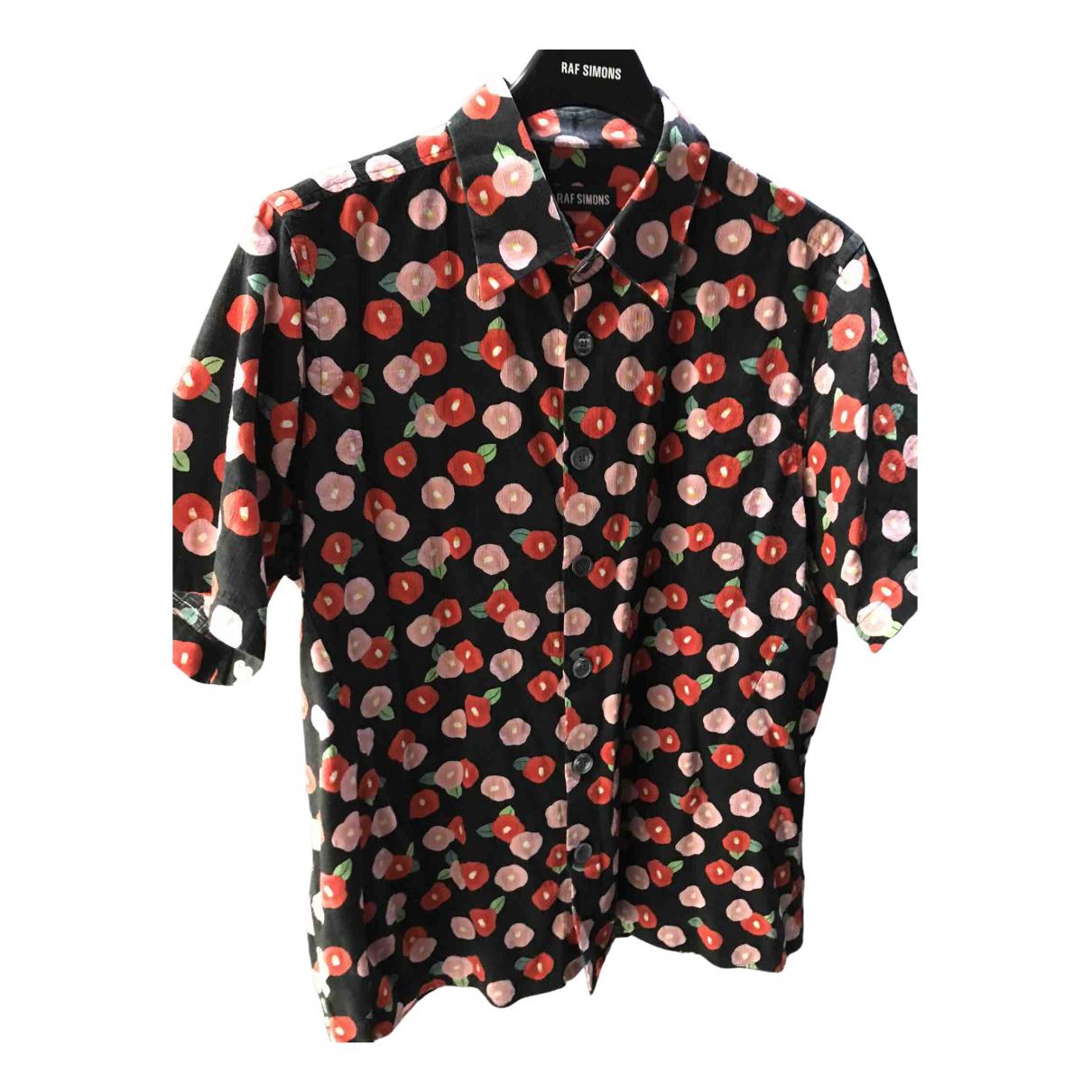 Raf Simons - Chemises   pour homme en coton - multicolore