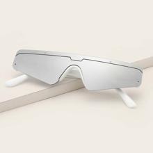 Maenner Sonnenbrille mit gerader Oberseite