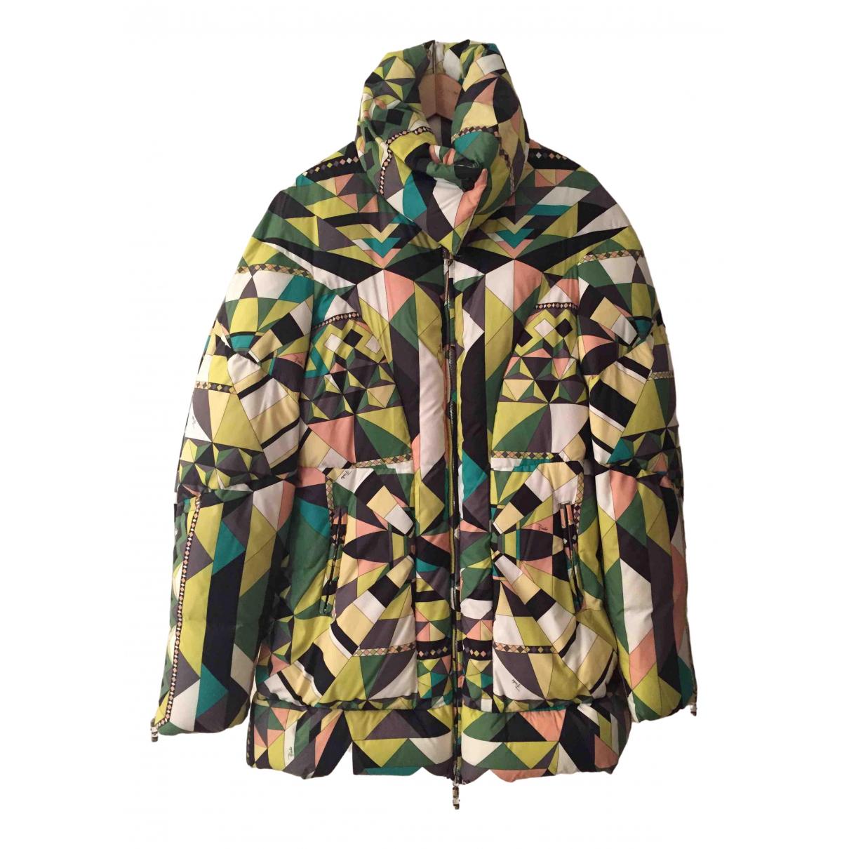 Emilio Pucci \N Multicolour coat for Women 42 FR