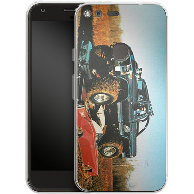 Google Pixel Silikon Handyhuelle - Bigfoot Seventies von Bigfoot 4x4