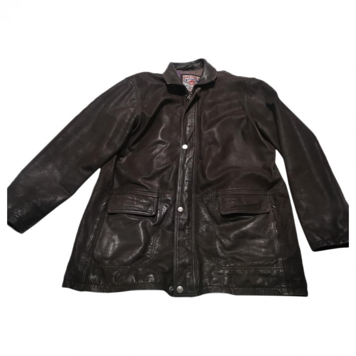 Daytona \N Brown Leather jacket  for Men XXXL International