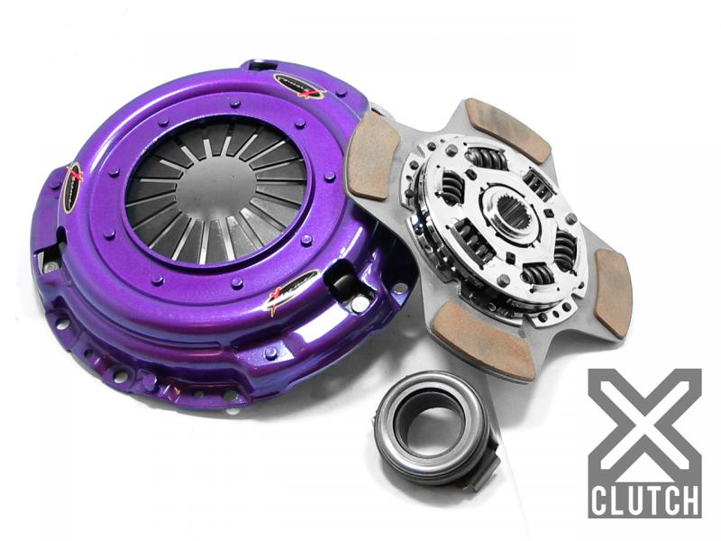 XClutch XKHN22005-1B Clutch Kit Stage 2 Single Sprung Ceramic Clutch Disc