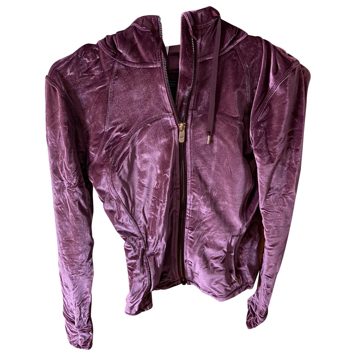Lululemon \N Pink Velvet jacket for Women 6 US