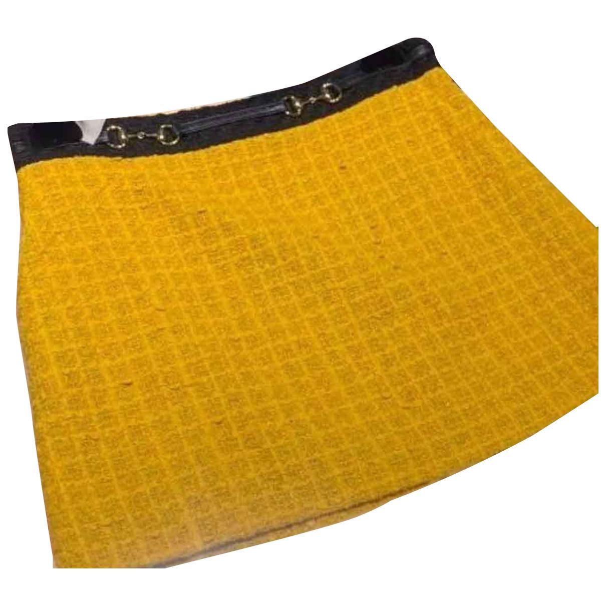 Gucci - Jupe   pour femme en coton - jaune