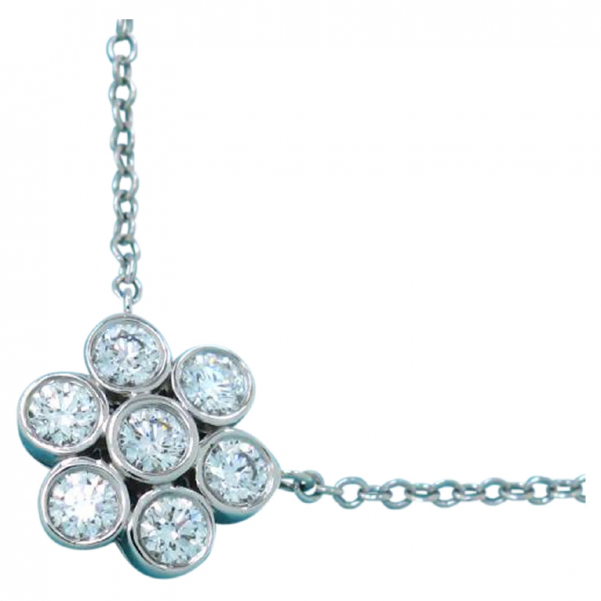 Tiffany & Co \N Platinum necklace for Women \N