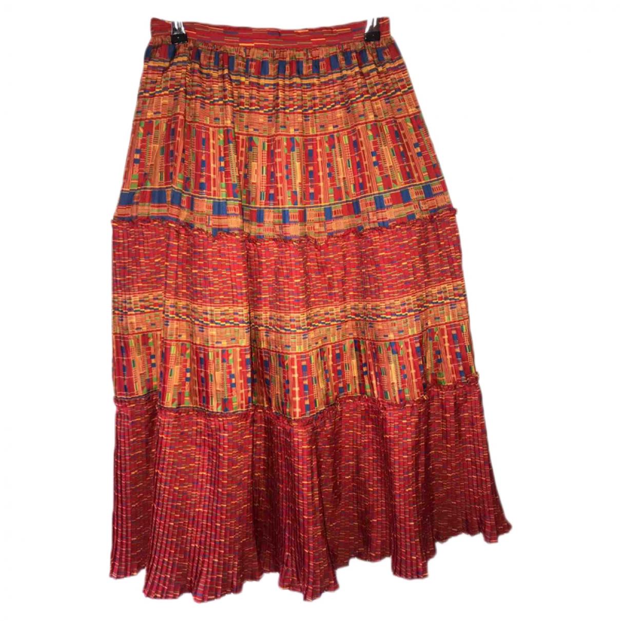 Liberty Of London \N Kleid in  Orange Baumwolle