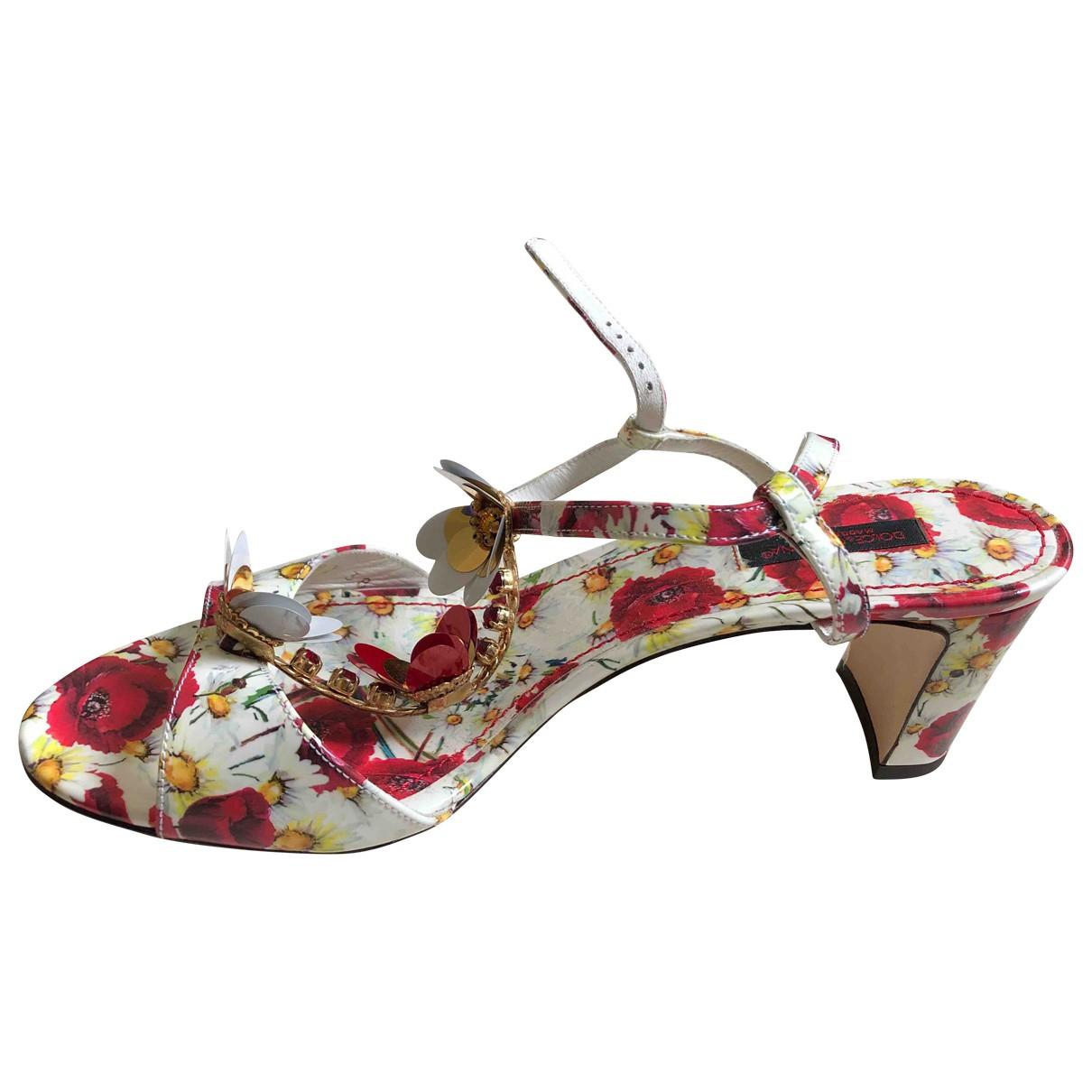 Dolce & Gabbana \N Sandalen in  Bunt Kunststoff