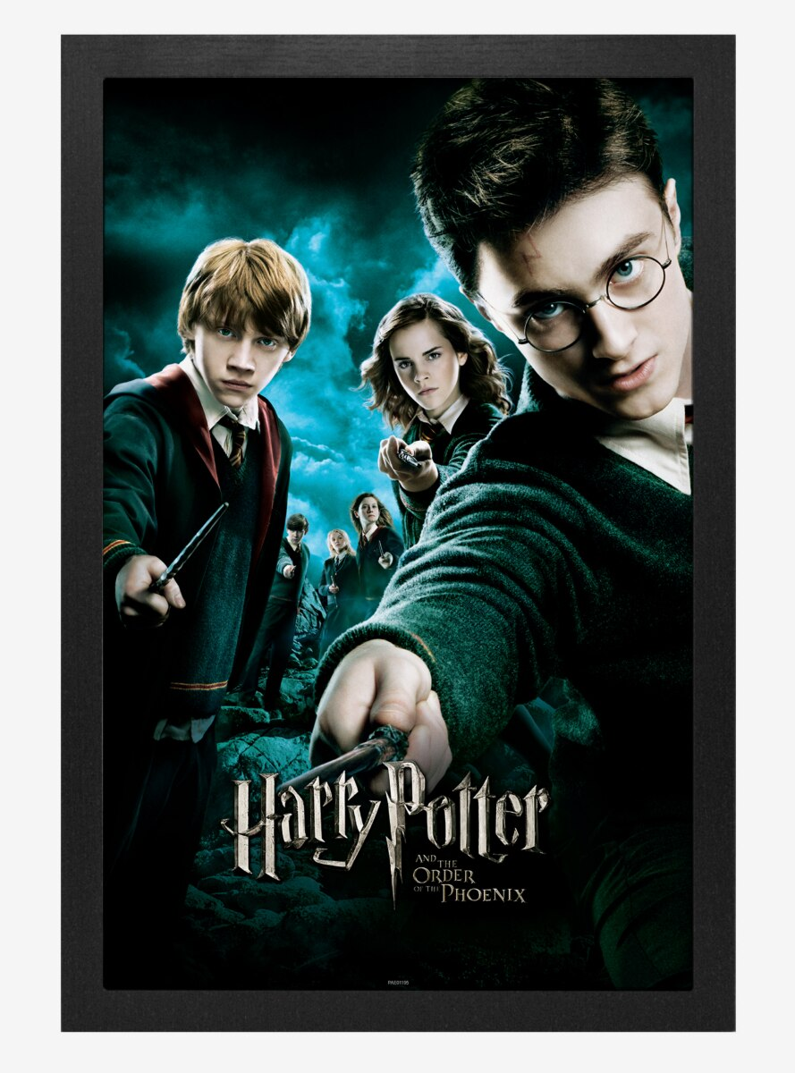 Harry Potter Order Of The Phoenix Poster