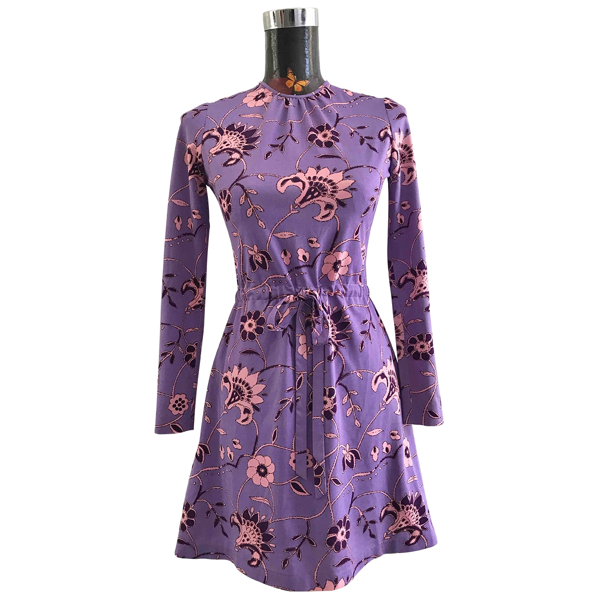 Non Signé / Unsigned \N Purple dress for Women 40 IT