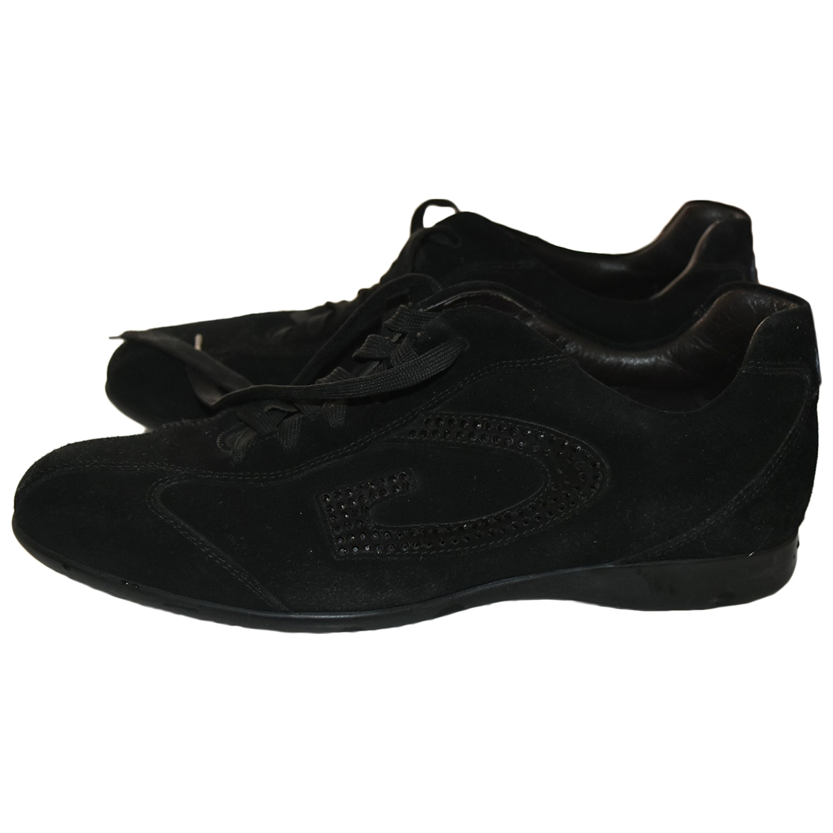 Alberto Guardiani \N Sneakers in  Schwarz Lackleder