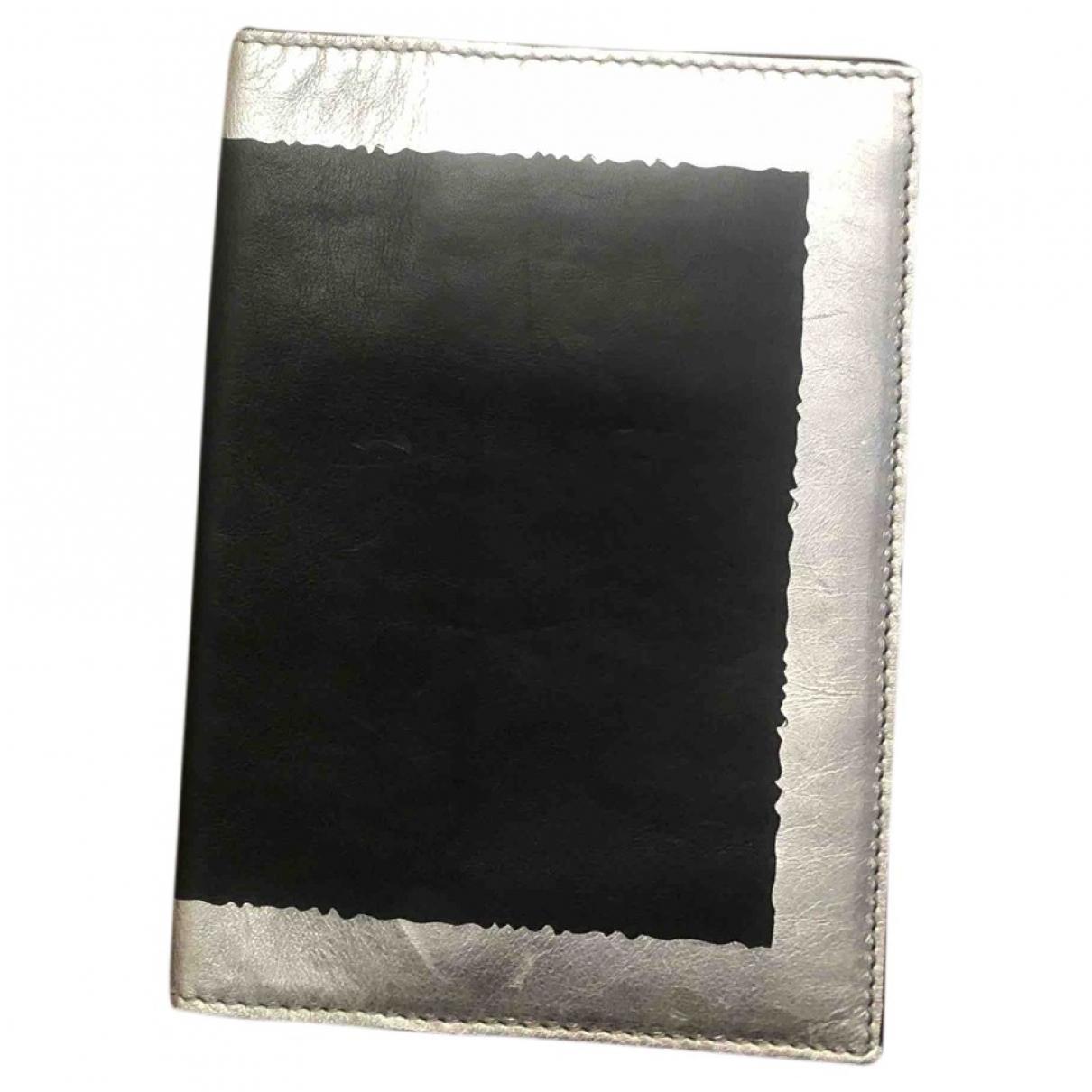 Bottega Veneta - Petite maroquinerie   pour homme en cuir - noir