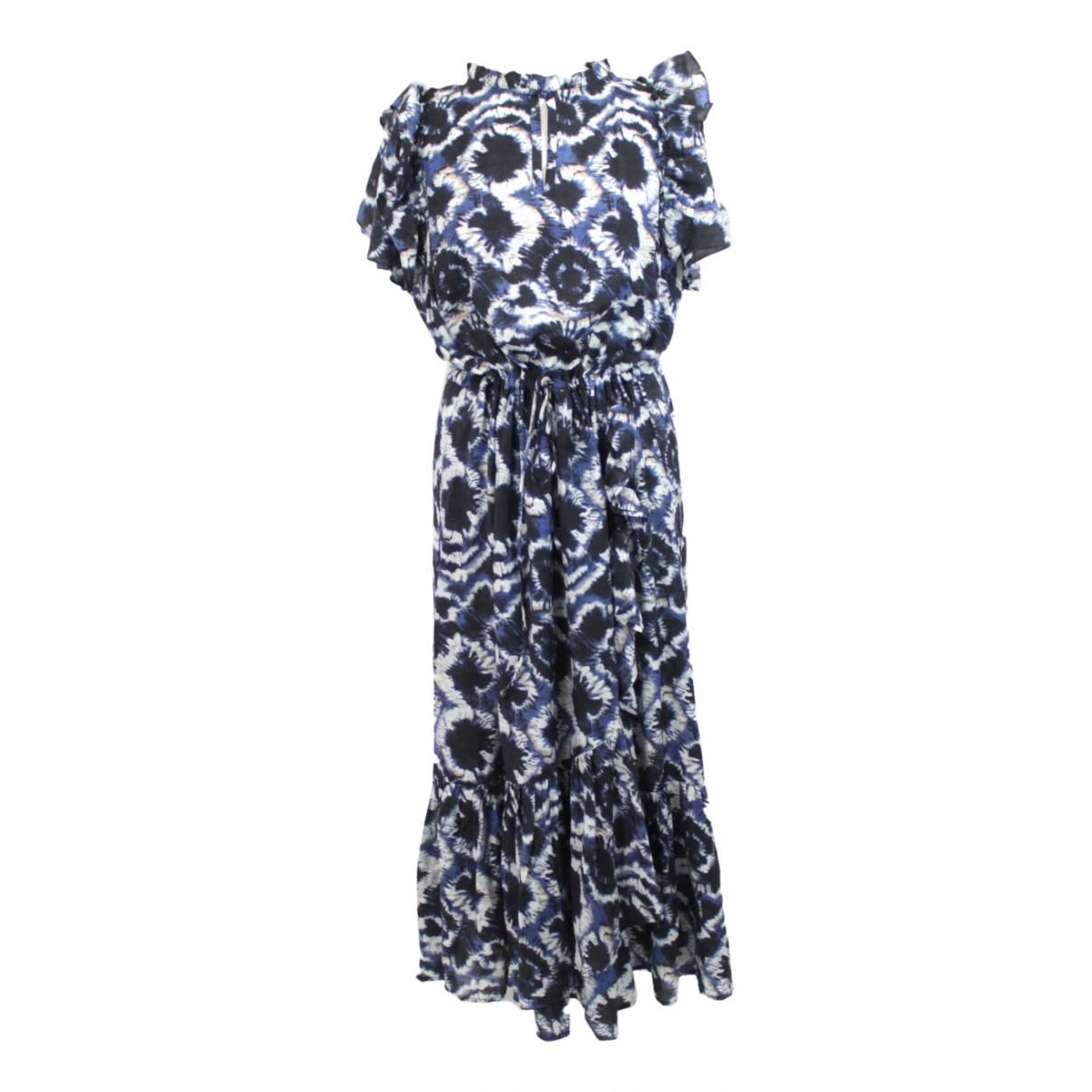 Munthe \N Kleid in  Schwarz Viskose
