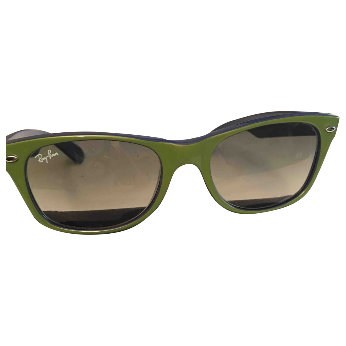 Ray-ban - Lunettes Original Wayfarer pour femme - vert