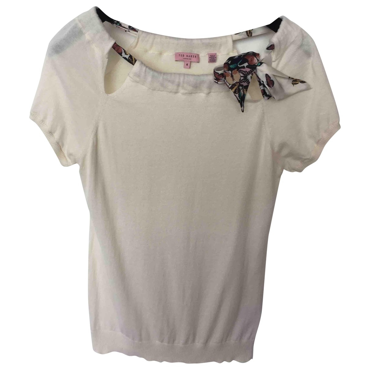 Ted Baker \N Beige Cotton Knitwear for Women 4 0-5