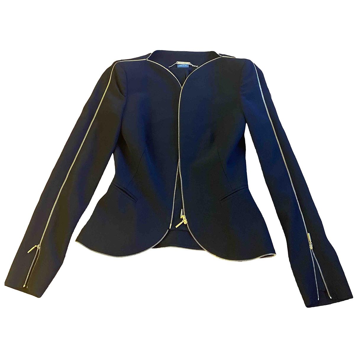 Alexander Mcqueen \N Black jacket for Women 38 IT