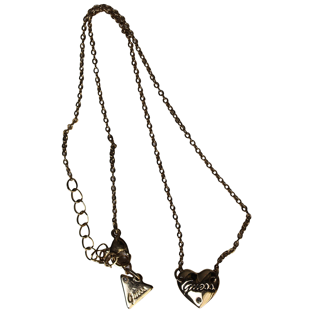 Guess N Gold Metal necklace for Women N