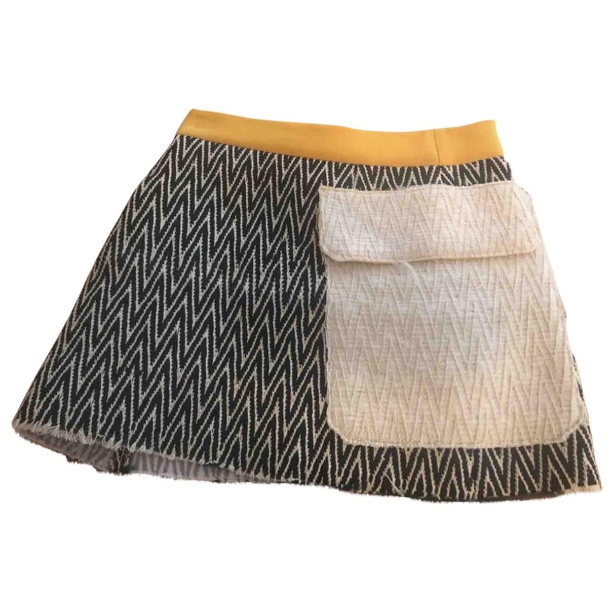 Bimba Y Lola - Jupe   pour femme en laine - vert