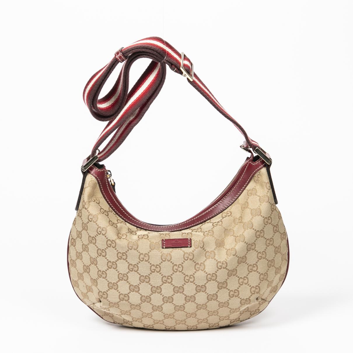 Gucci \N Handtasche in  Rot Baumwolle