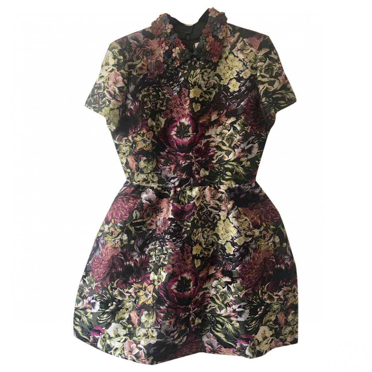 Valentino Garavani \N Multicolour Silk dress for Women 44 IT