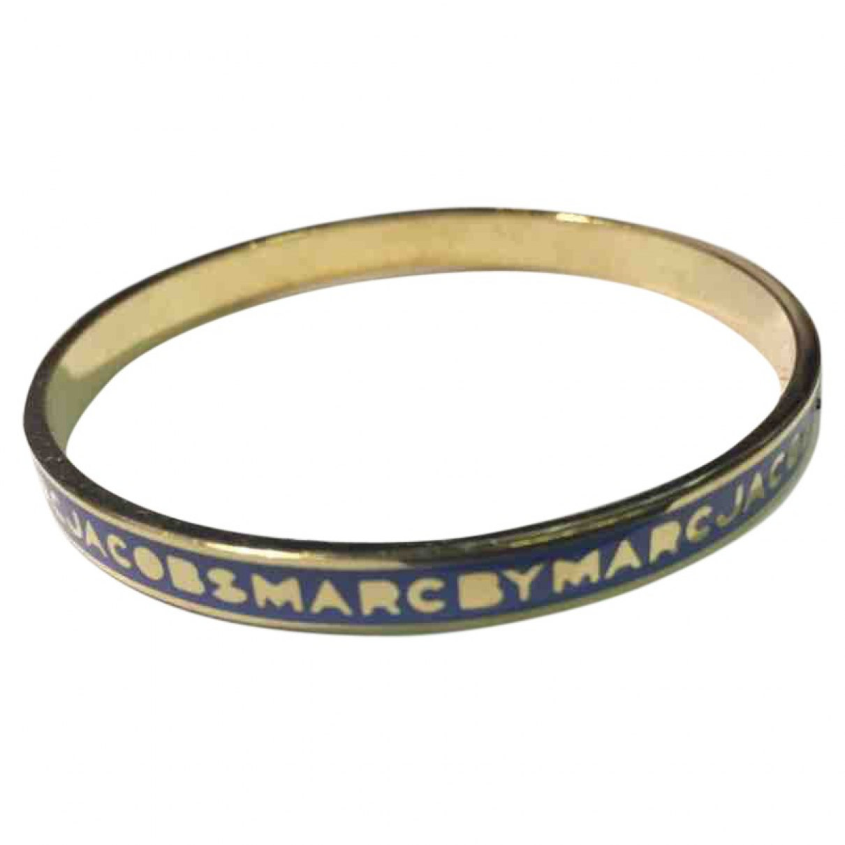 Marc By Marc Jacobs \N Armband in  Blau Metall