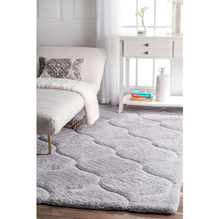 nuLoom Shaggy Elsie Rug, One Size , Gray