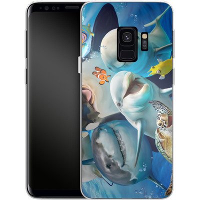 Samsung Galaxy S9 Silikon Handyhuelle - Ocean Selfie von Howard Robinson