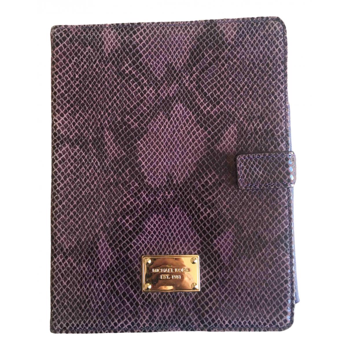 Michael Kors - Accessoires   pour lifestyle en cuir - violet