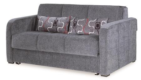 Ferra Fashion Collection FERRA FASHION LOVE SEAT SLEEPER GRAY 26-370 65
